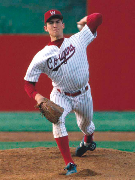 John Olerud with the Cougars