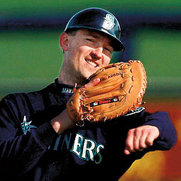 John Olerud at the Mariners