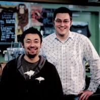 Indaba founders Bobby Enslow '06, '08 and Ben Doornink '07