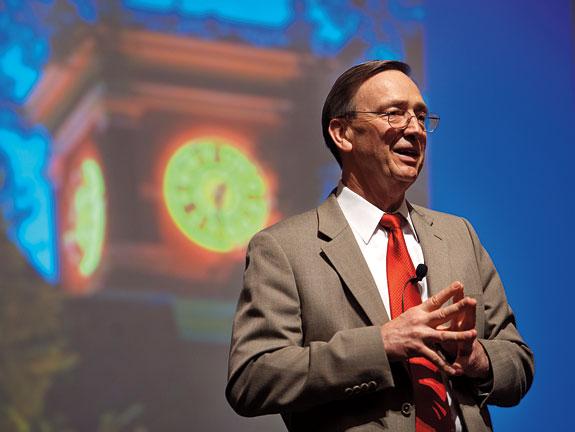 John E. Olerud speaks at WSU