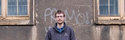 WSU evolutionary anthropologist Luke Premo