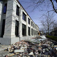 Damage from the 2001 Nisqually Quake