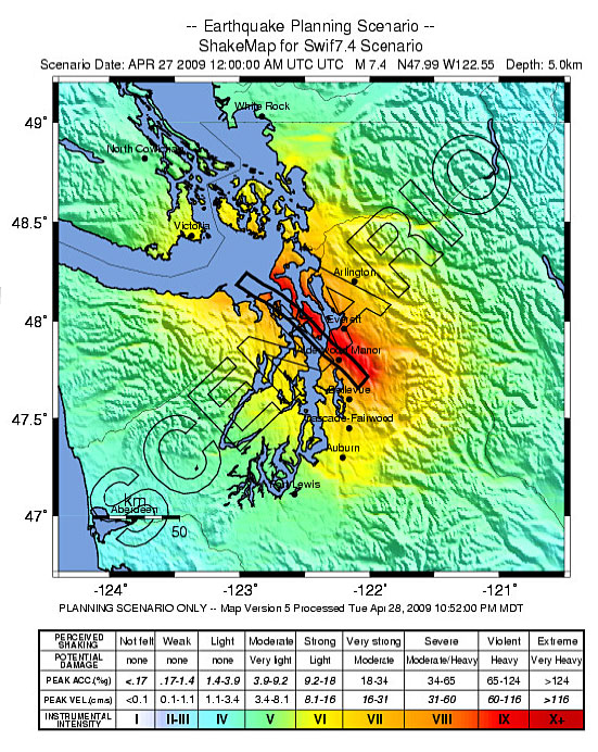 The Dangers Of A Major Cascadia Earthquake Washington State