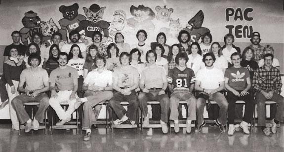 1982 WSU Bowling Team