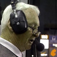 Bob Robertson calling a WSU football game