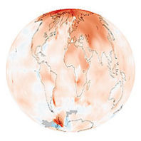 Ethics of Climate change - warming globe