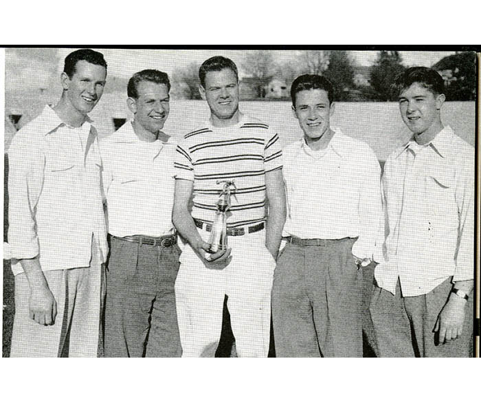 WSC intramural bowling winners in 1948