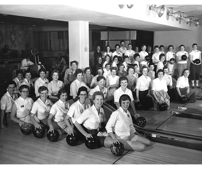 1959 bowling tournament members