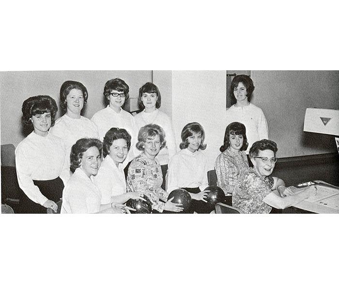 1965 bowling team at WSU