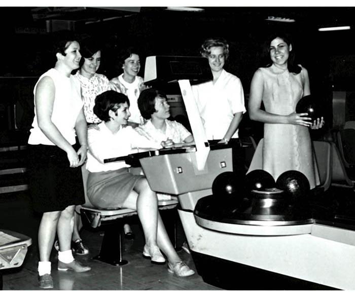 WSU Bowling Club, 1966
