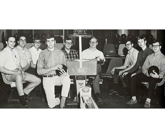 WSU men's bowling, 1970
