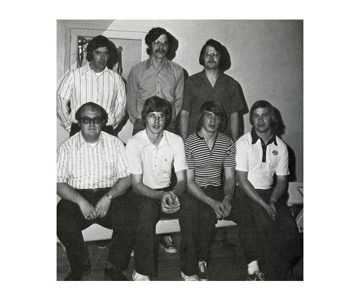 WSU Men's Bowling Team in 1974