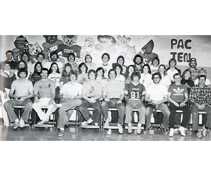 WSU bowling teams in 1982