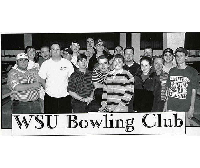 WSU Bowling Club from 1998