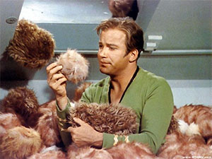 Image from Star Trek: The Original Series episode, The Trouble With Tribbles (c) 1967 Paramount Pictures