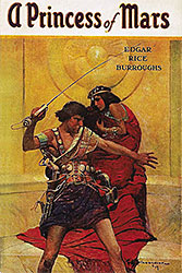Cover of Princess of Mars by Edgar Rice Burroughs. Wikipedia