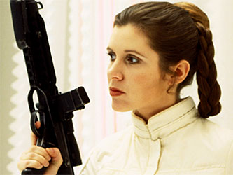 Princess Leia from Star Wars. (c)Lucasfilm