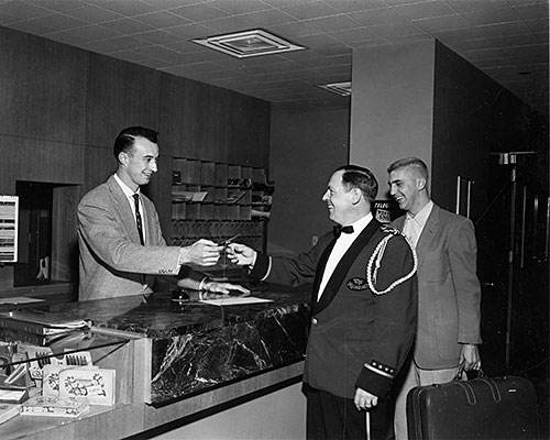The 1956 Bellman of the Year  at WSU