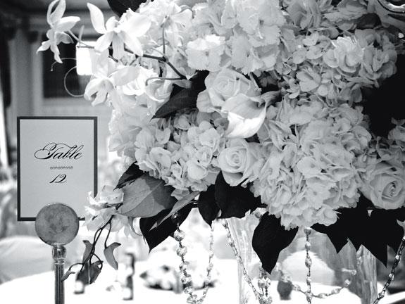 Bouquet at a wedding