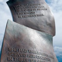 veterans' monument at WSU Tri-Cities