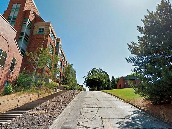 Road at WSU