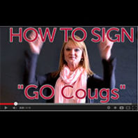 How to sign Go Cougs