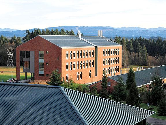 WSU Vancouver Engineering building