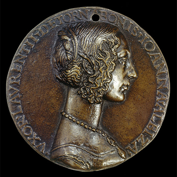 Bronze medal from Renaissance Italy