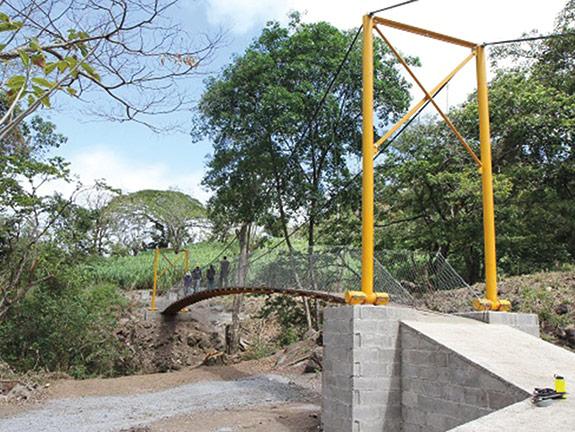 Bridge in Nicaragua