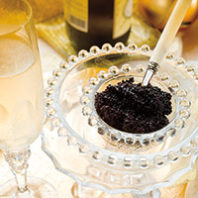 Caviar and sparkling wine