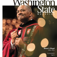 Cover of Washington State Magazine, Fall 2015