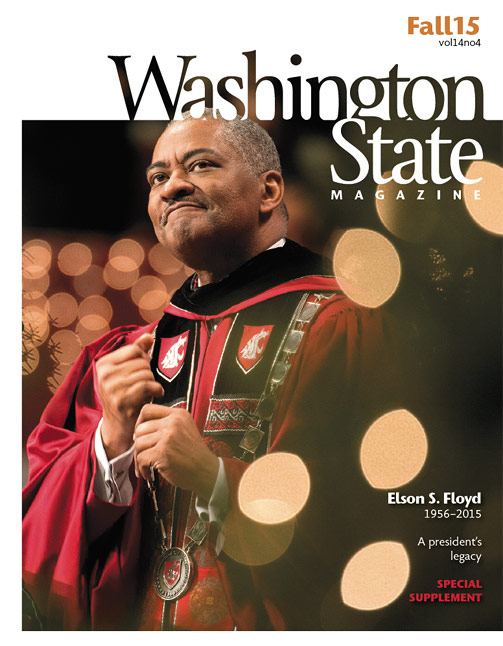 Washington State Magazine Fall 2015 cover