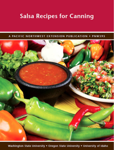Salsa book cover from PNW Extension