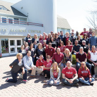 Alumni volunteers, Courtesy WSUAA