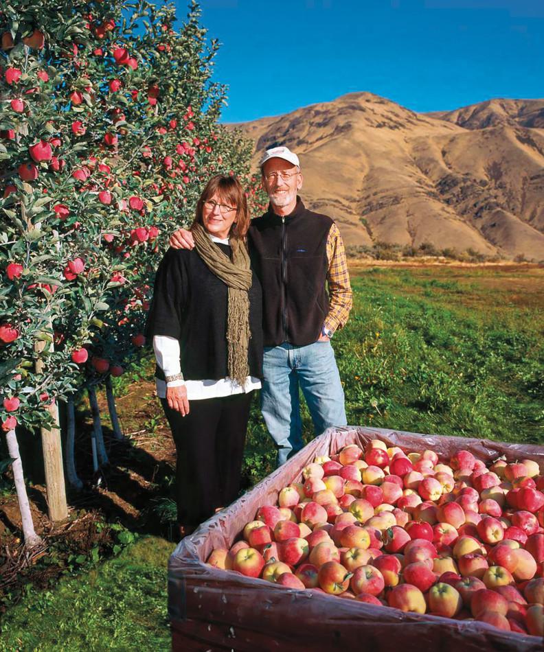 Craig and Sharon Campbell. Photo Rina Jordan