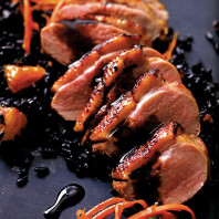 Pan roasted duck breast. Photo E.J. Armstrong