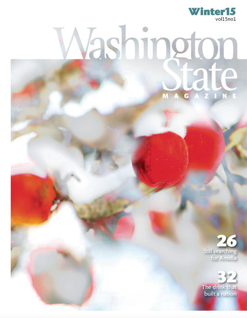 Winter 2015 Washington State Magazine cover