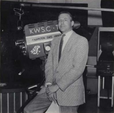 Robert Mott in the KWSC studio