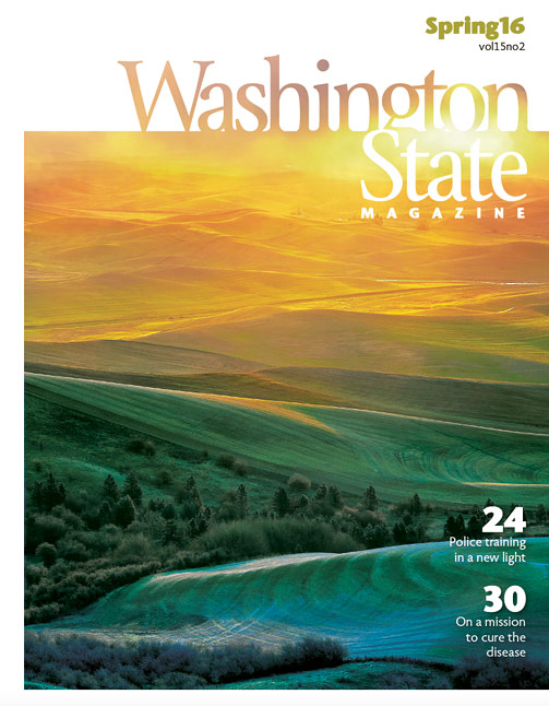 Spring 2016 Washington State Magazine cover
