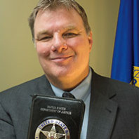 Former Chief Deputy Marshal Eric Marks.