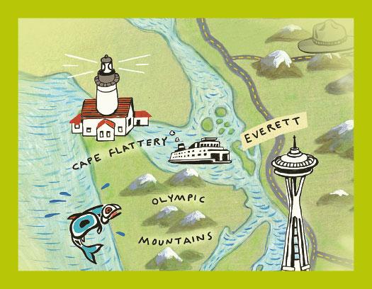 ozette map