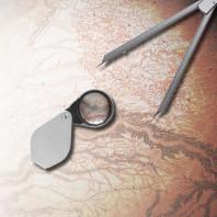 Mapmaker Mystery photoillustration