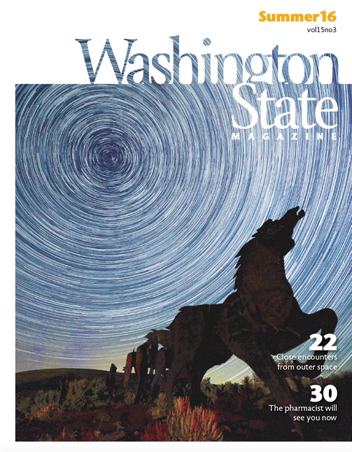 Washington State Magazine Summer 2016 cover