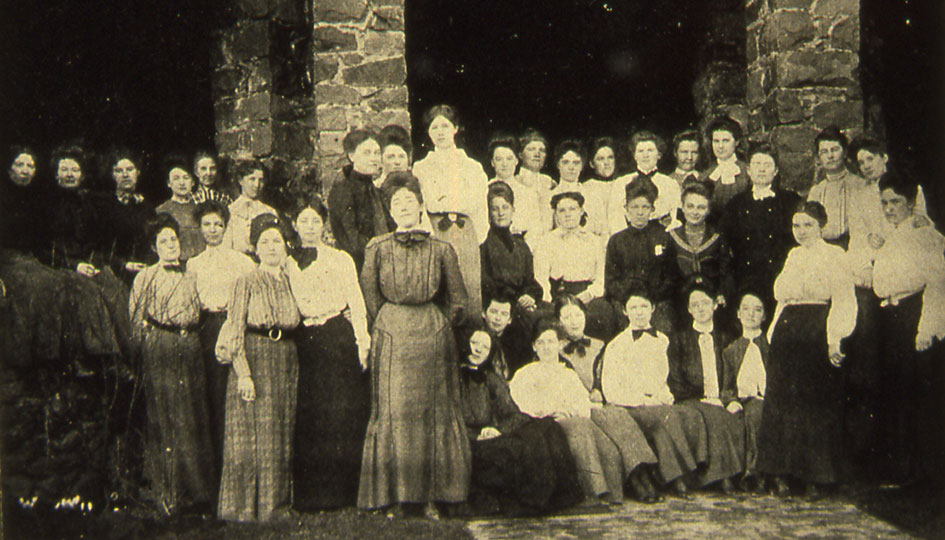 Stevens Hall residents, 1890s