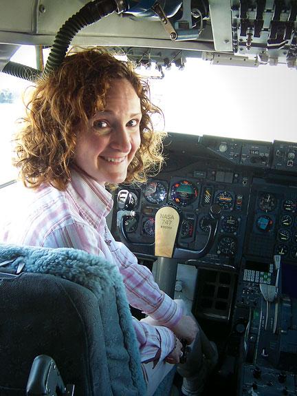 Jennifer Ross-Nazzal '04 at NASA