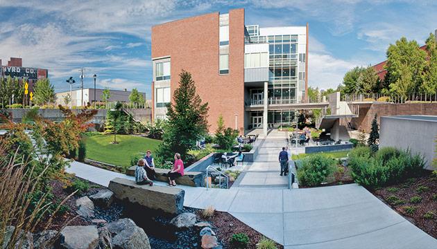 College of Nursing building by Zach Mazur