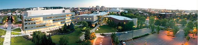 WSU Spokane campus by Zach Mazur