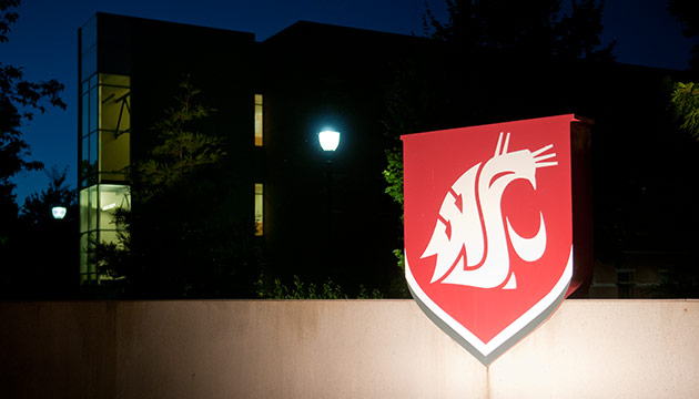 WSU sign, by Zach Mazur