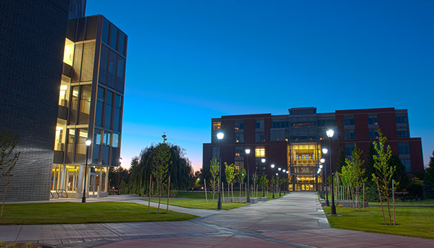 Pharmaceutical and Biomedical Sciences Building, by Zach Mazur