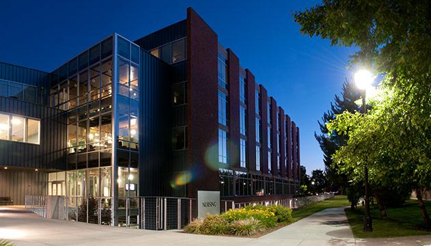 Nursing Building by Zach Mazur